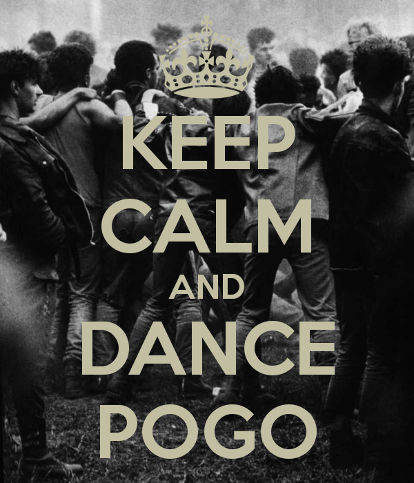 Keep calm and dance pogo
